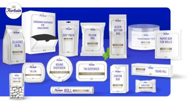 Verpakkingsmogelijkheden Fortuin